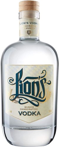 Lions Munich Handcrafted Vodka 0,7L 42% vol. BIO / DE-ÖKO-007