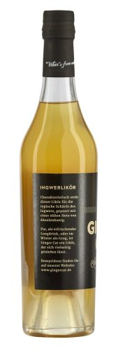 GINGER CAT - Authentic Liqueur - 0,50L - alc. 30%