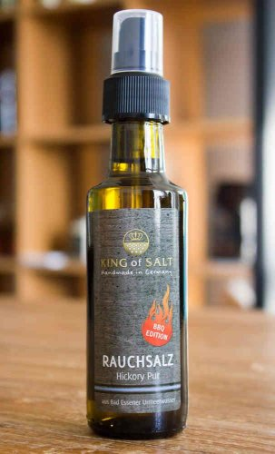 King of Salt Rauchsalz, Hickory Pur, Spray 100ml
