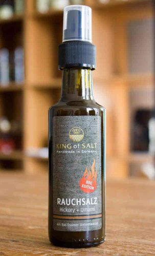 King of Salt Rauchsalz, Hickory + Umami, Spray 100ml