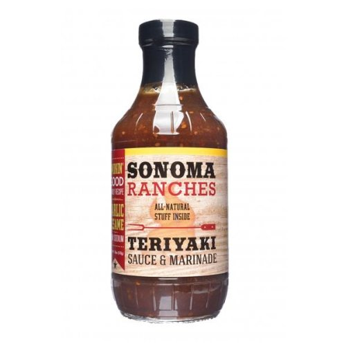 Sonoma Ranches Teriyaki Sauce & Marinade - 455ml