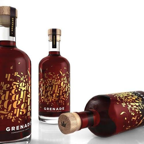 Granatapfellikör - Grenade - Made in Greece - 20 % vol. - 500 ml