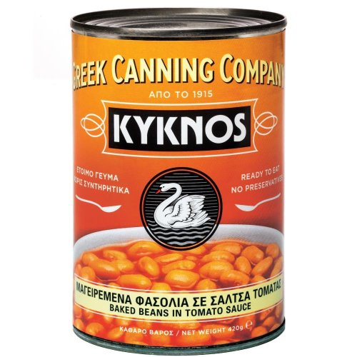 Kyknos - Baked Beans in Tomatensauce - 420g