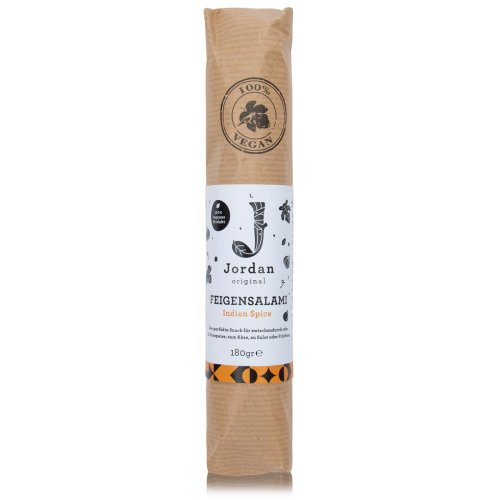 Jordan Original - Feigensalami - Indian Spice - 180g