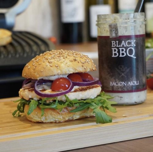 Black BBQ - Bacon Aioli 260 ml