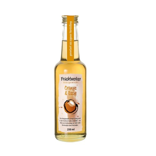 Fruchtwerker - Orange & Essig - 250ml Flasche