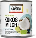 Fairtrade Original - Bio Kokosmilch - LK-BIO-149 - 270ml...