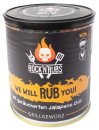 RocknRubs - We Will Rub you - Grillgewürz - 140g