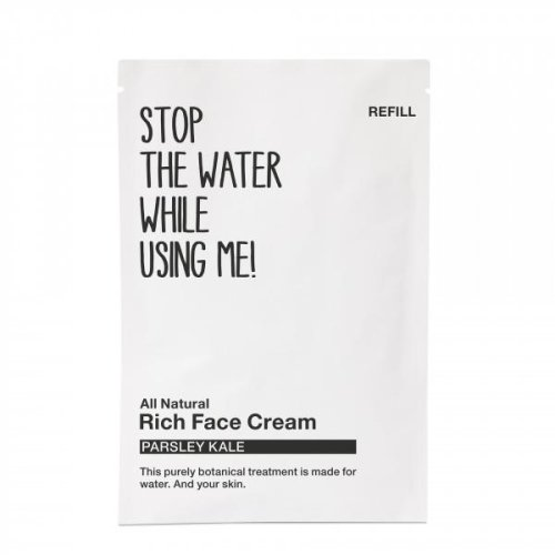 STOP THE WATER WHILE USING ME! - Gesichtscreme - Nachfüllpack - Rich - All Natural Rich Face Cream - Refill - 50ml