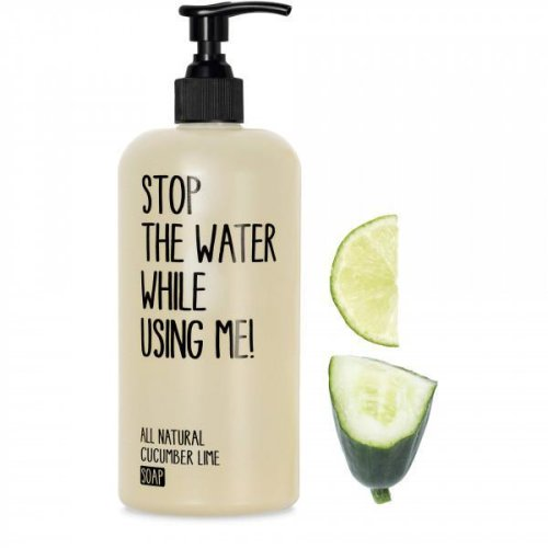 STOP THE WATER WHILE USING ME! - Seife - mit frischem Gurke-Limetten-Duft - Cucumber Lime Soap - 200ml