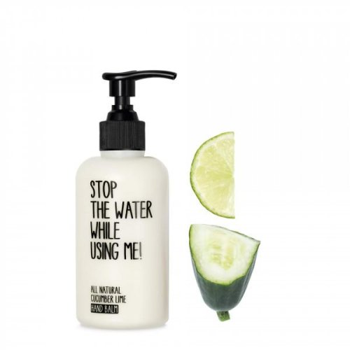STOP THE WATER WHILE USING ME! - Hand Creme Balm - mit frischem Gurke-Limetten-Duft - Cucumber Lime Hand Balm - 200ml